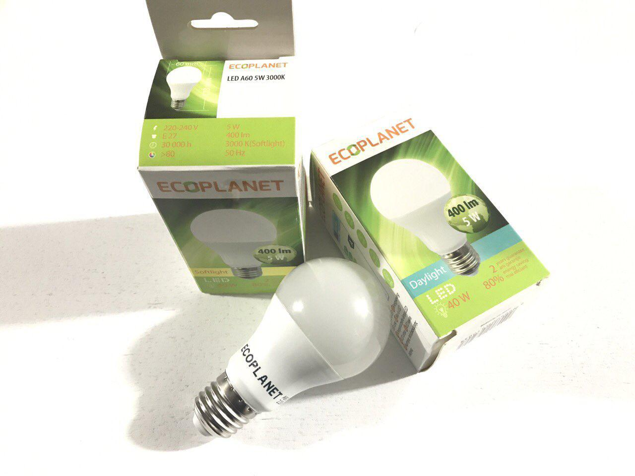 LED лампа Ecoplanet G45 230V 5W 6500K E14