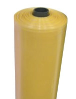 Пленка ПЭТ тепличная стабилизированная жёлтая 3000мм/100мк/50м