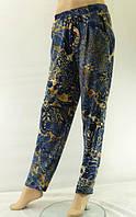 Женские брюки больших размеров ткань масло