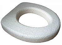 Сиденье для унитаза ПЕНОПЛАСТ (белое)