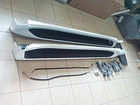 Боковые пороги с подсветкой Toyota Land Cruiser 200, Lexus LX570