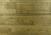 "Трехслойная однополосная паркетная доска ""Золото Браш"", 15х180х1000-2200 мм."