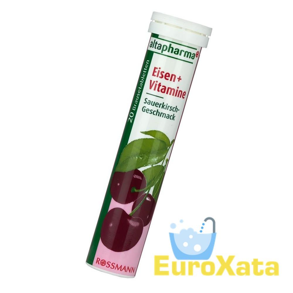 Витамины Altapharma Eisen+Vitamin шипучие таблетки