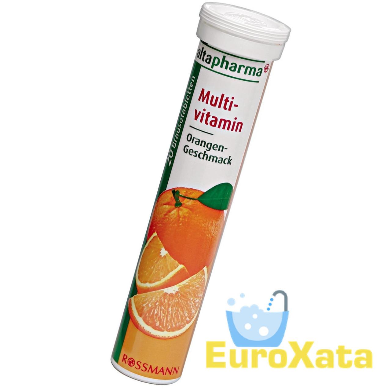Витамины Altapharma Multivitamin Orange шипучие таблетки