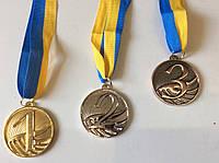 Медаль диаметр 5 см.  с ленточкой