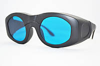 Очки защитные LSG-14 оправа 4 600-1100 nm. O.D.6+ для лазера диодного, александрит, рубинового, неод