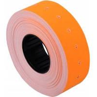 Етикетки-цінники 21х12 мм Economix, 1000 шт/рул., помаранчеві