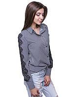 Женская блузка Б-8 Серый