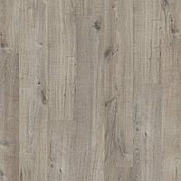 Quick-Step PUCP40106 Дуб Хлопок, серый, распил, виниловый пол Livyn Pulse Click Plus
