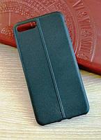 М'який силіконовий чохол-накладка текстура Шкіряний шов для Ipone 7 Plus (5.5), фото 1