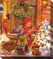 """Схема для вышивки бисером """"Рождественская ёлка"""""""