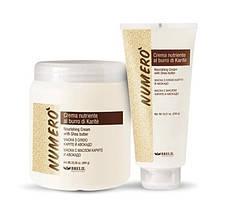 Серия Brelil Professional Numero для питания сухих волос с маслом карите