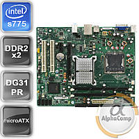 Материнская плата Intel DG31PR (s775/G31/2xDDR2) б/у