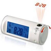 Часы цыфровые-проектор с проекцией времени,подсветкой и жк-дисплеем