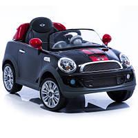 Детский электромобиль Geoby W456EQ-K312 Черный с красными полосками