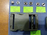 Карабин хаки (Фастекс) 2.5 см YKK. (Надёжность, качество), фото 1