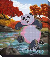 """Схема для вышивки бисером """"Панда кунг фу"""""""