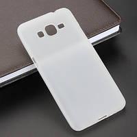 Силиконовый чехол накладка для Samsung A720 (A7-2017) White