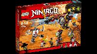 Конструктор лего ниндзяга Lego Ninjago 70592 Робот-спасатель с металлолома