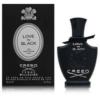 Оригинал Creed Love in Black 75ml edр Крид Лав ин Блэк