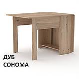 Раскладной Стол-Книжка-1 стандартный для кухни или гостинной, фото 6