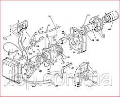 Запасные части к горелке Riello Gulliver BLU BG6D