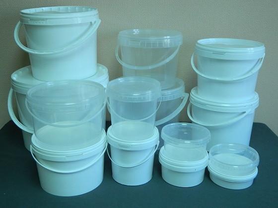 Пищевые пластиковые ведра,судки
