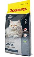 Josera Catelux  корм супер-премиум класса для взрослых кошек со склонностью к образованию комков