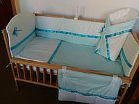 Детское постельное белье в кроватку новорожденного -9 ед