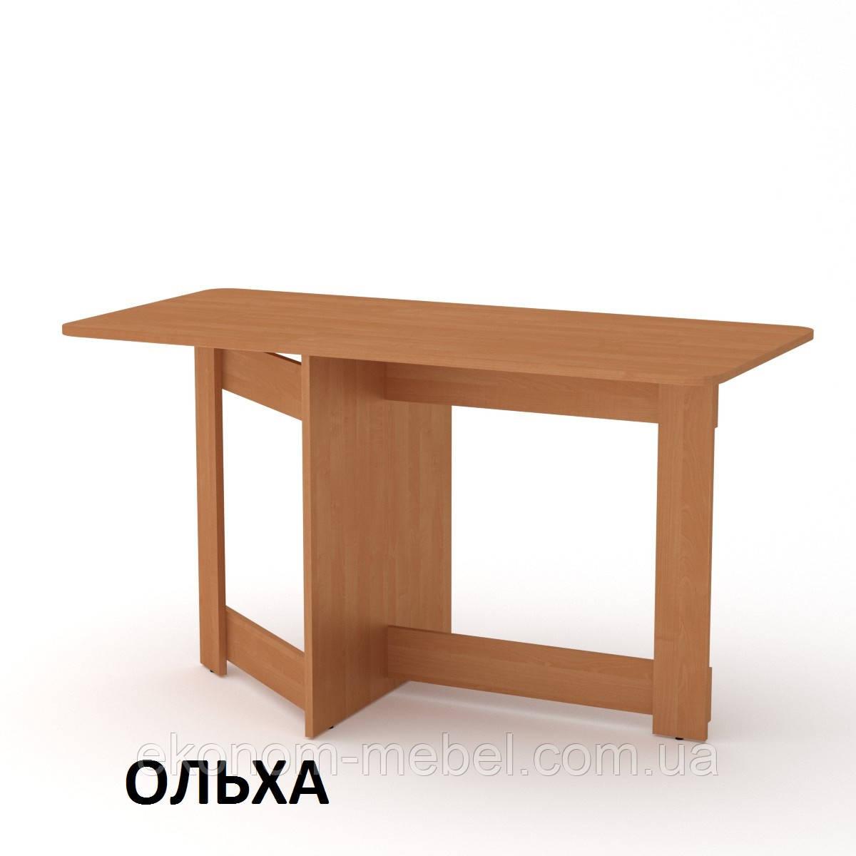 Раскладной Стол-Книжка-6 прямоугольный из ДСП