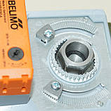 Задвижка поворотная Баттерфляй диск чугун VITECH с эл.приводом SMD BELIMO Ду50 Ру16 20сек, фото 5