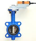 Задвижка поворотная Баттерфляй диск чугун VITECH с эл.приводом SMD BELIMO Ду50 Ру16 20сек, фото 7
