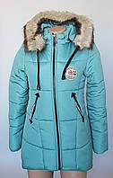 Зимняя теплая куртка для девочки-подростка