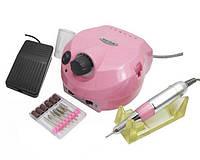 Аппарат для маникюра и педикюра DM-202 ,35 тыс оборотов(розовый)
