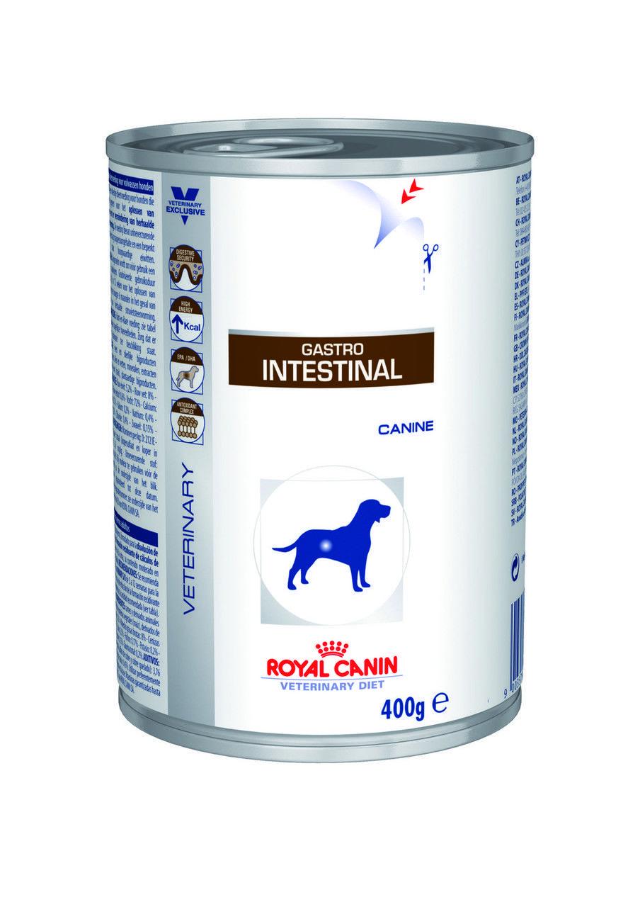 Влажный лечебный корм Royal Canin Gastro Intestinal Cans для собак 0,4КГ