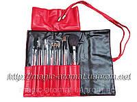 Набор натуральных кистей 7шт. в чехле на кнопке Salon Professional ™(USA), фото 1