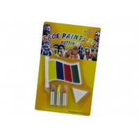 818985 Краски для лица, 4цвета + 3 карандаша 6409