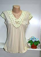 Летняя женская  футболка хорошего качества, фото 1