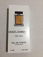 Оптом туалетная вода ОАЭ Dolce & Gabbana The One Men 10ml