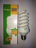 Roilux Лампа энергосберегающая 32Вт 32W E27 4100K