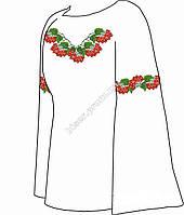 Заготовка женской вышиванки бисером на льне СВЖБ-24