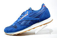 Мужские кроссовки Reebok Classiс Leather Suede, Blue