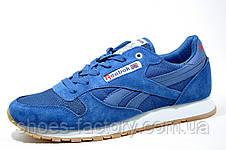 Мужские кроссовки в стиле Reebok Classiс Leather Suede, Blue, фото 2