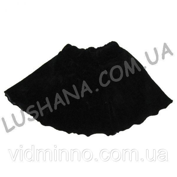Велюровая юбка на рост 80-86 см - Велюр