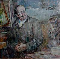 """Картина на холсте """"Портрет художника Письменного С.И."""""""