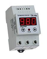 Одноканальный терморегулятор без датчика TK-4к DIN-рейка DigiTOP