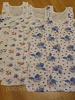 Женское белье нижняя Майка, рубашка 46-52 хлопок пр-во Турция