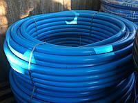 Труба из полиэтилена ПЭТ Ворсклапласт (вторичка) д.32 синяя (200)