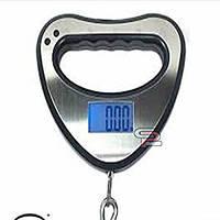 Весы электронный electronic portable scale blue backlight function