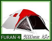 Палатка Presto Furan 4 проклеенные швы